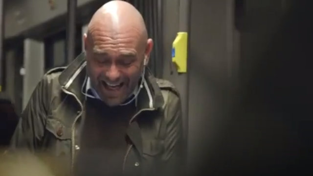 Laughter in the Subway